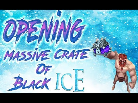 Arcane Legends ||OPENING 30 Massive Crate Of Black Ice||