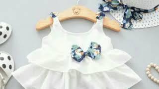Cotton dress designs # summer dress # baby frock # Ruffle dress #