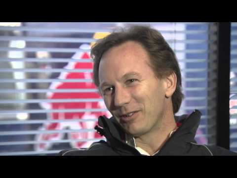 Interview with Red Bull Racing Team Principle, Christian Horner at the 2013 Barcelona Test Day