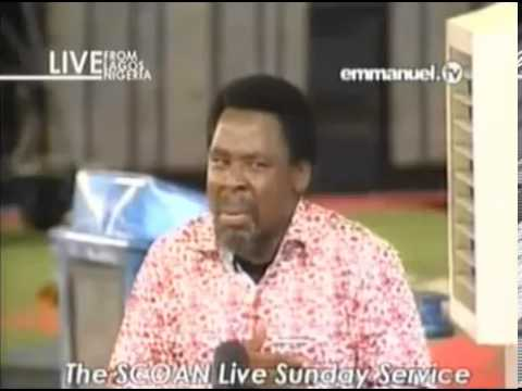 Sunday 27 Oct 13 Prophet Tb Joshua Prophecy: Evil Attack In East Africa, African Leader Captured video