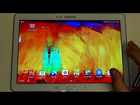 Samsung Galaxy Note 10.1 2014 Edition Software Review