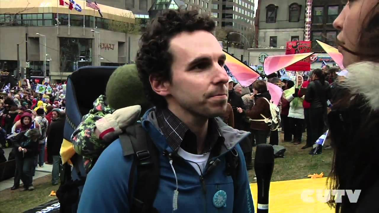 CUTVNews - Greenpeace Against Plan Nord - Earth Day