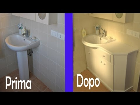Lavandini Bagno Salvaspazio : Mobile lavabo bagno piccolo stunning piccolo bagno con mobile per
