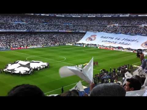R. Madrid - F.C Barcelona Ida Semifinales Champions League (Inicio del partido)