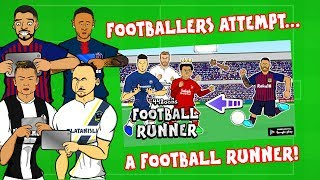 Footballers Attempt a Football Runner!⚽️⬅️🏃‍♂️