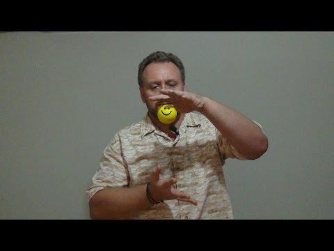Левитация шарика.Очередной метод(магический) антистрах техники.