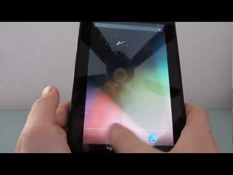 Amazon Kindle Fire running Android 4.1 Jelly Bean (early build)
