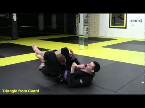 Attack from Closed Guard: Triangle submission Image 1