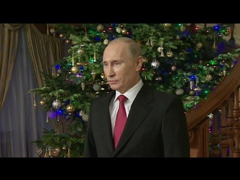 Putin says Happy New Year to Russia