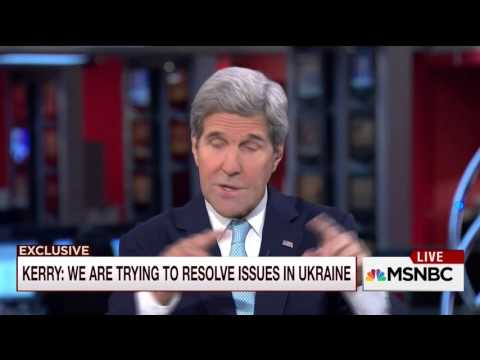 John Kerry talks with Mike Barnicle on the approach in dealing with Putin (29 September 2015)