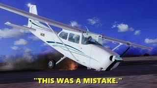 Trolling as a FLIGHT INSTRUCTOR in Flight Simulator X (Multiplayer)