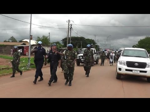 UN troops step up patrols in restive Central African capital