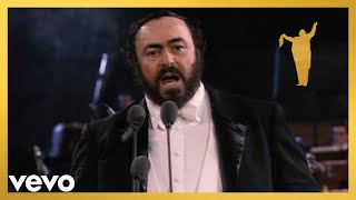 "Luciano Pavarotti sings ""Nessun dorma"" from Turandot (The Three Tenors Original Concert..."