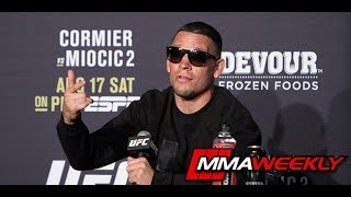 UFC 241 Post-Fight Press Conference: Nate Diaz  (Complete)
