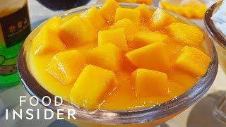 Hong Kong's Favorite Mango Dessert Is Now In California | Line Around The Block