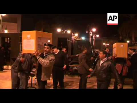 Polls close in parliamentary elections, counting, Muslim brotherhood