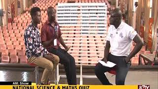 National Science And Maths Quiz - AM Show on JoyNews (25-6-18)