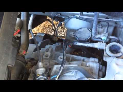 Dodge caliber EVAP purge solenoid replacement how to DIY p0455 p0456 - YouTube