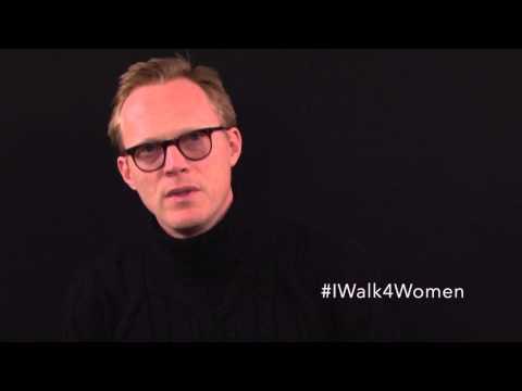 #IWalk4Women with Paul Bettany