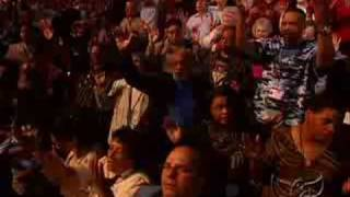 "Benny Hinn sings ""Spirit of the Living God"""