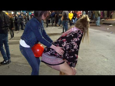 Balloon Pop Challenge in Public