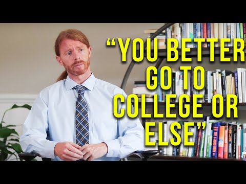 the broken higher education system in