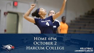Lackawanna College Women's Volleyball vs Harcum College