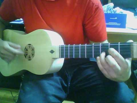 Johnny Cash's ''Hurt'' on Baroque Guitar