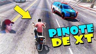 GTA 5: POLICIA E LADRÃO - A FUGA MAIS INSANA DE XT660! - #08