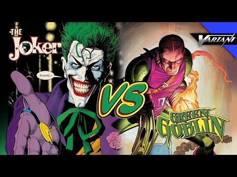 Joker VS Green Goblin: Epic Battle!