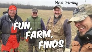 Fun, Farm, Finds - Metal Detecting Road Trip to Colonial era Amish Farms