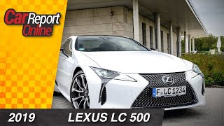 Lexus LC 500 Test - Car Report Online