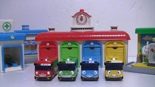 타요 중앙차고지 장난감 Tayo The Little Bus Garage Toys