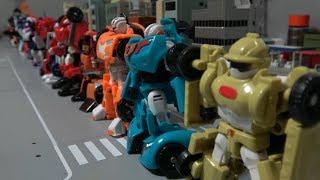 또봇 오리지날과 애슬론 미니 로봇 총 출동 장난감 Tobot & Athlon Mini Robot Toys All Collection