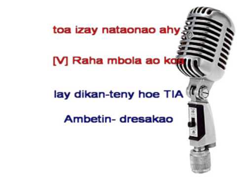 Hay Ve Ka Nisy - Rija Ramanantoanina (karaoke) video
