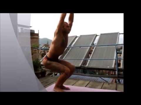 иога для спины, лечение позвоночника часть 3