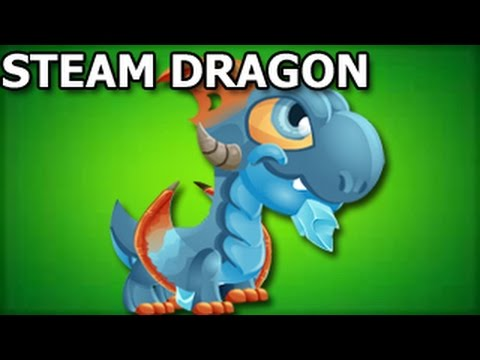 How To Breed STEAM DRAGON in Dragon City Breeding Sanctuary Level 2