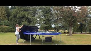 Sportspower Trampoline - Easi-Store Safety Enclosure