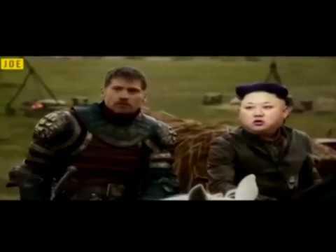 Os meninos nucleares resolveram brincar! Trump e Kim!
