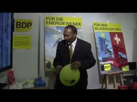 BDP Videonews zu Abstimmungsvorlagen, Wahlen Basel Land und Muba-Impressionen