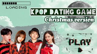 Kpop dating game || Christmas/Winter version ☃️❄️