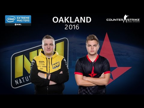 CS:GO - Natus Vincere vs. Astralis [Train] - Group A - IEM Oakland 2016