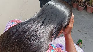 LHPB Rapunzel Mannu Thick Braid Direct Heavy Hair Oiling With Healthy Hair