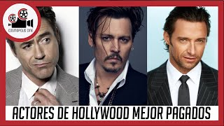 ACTORES DE HOLLYWOOD MEJOR PAGADOS