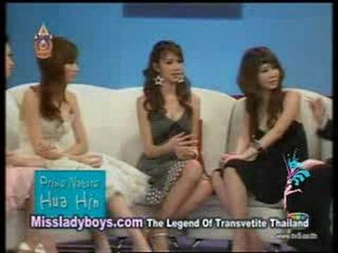 ニューハーフ 3 beautiful thai newhalfs in TV. Who choose you?