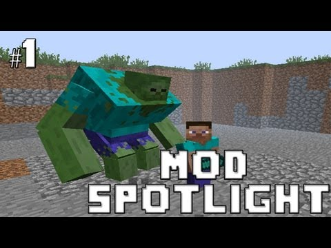 Minecraft MOD Spotlight - Mutant Creatures v1.2.1 - Mutant Zombies/ Mutant Creep