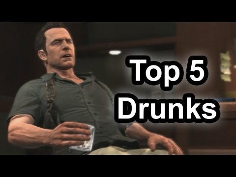 Top 5 - Drunks in gaming