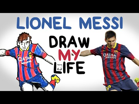 Lionel Messi | Draw My Life