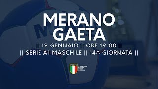 Serie A1M [14^]: Merano - Gaeta 34-26