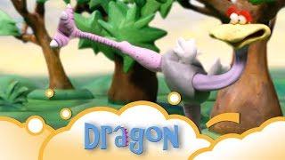Dragon: Ostrich to the rescue S1 E12   WikoKiko Kids TV